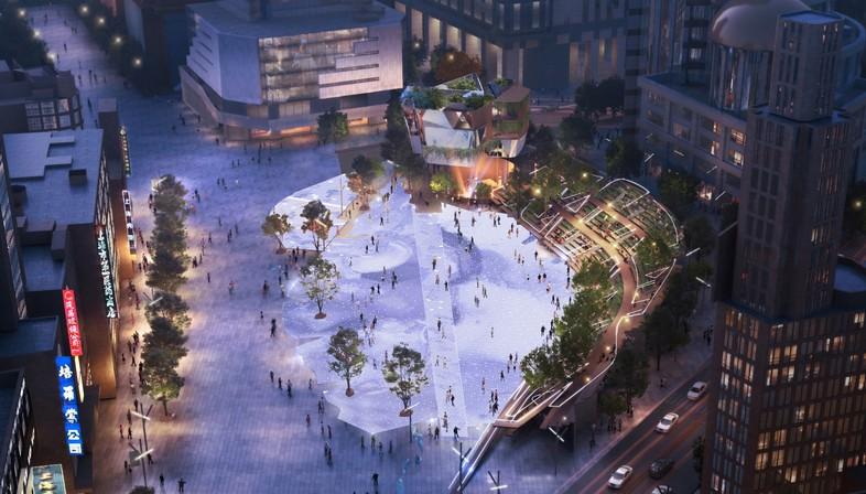 Miralles Tagliabue EMBT vince il concorso per la riqualificazione di Century Square a Shanghai