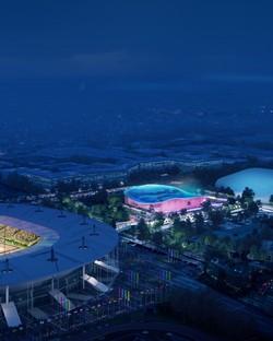 VenhoevenCS + Ateliers 2/3/4/ Centro Acquatico per Olimpiadi Parigi 2024
