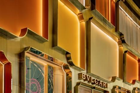 MVRDV completa la facciata del flagship store Bulgari a Bangkok