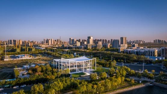 Powerhouse Company Paper Roof nuovo centro civico a Tianjin