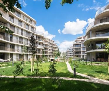 Berger Parkkinen Architects Der Rosenhügel housing a Vienna