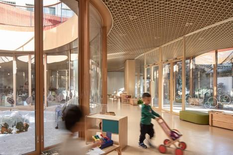 MAD Architects YueCheng Courtyard Kindergarten Pechino