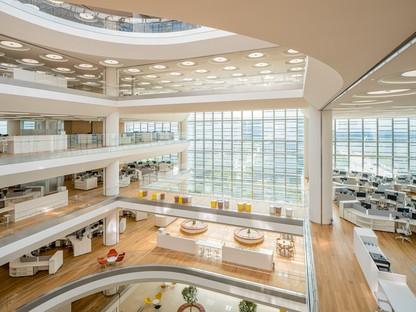 Foster + Partners sede centrale Hankook Technoplex a Pangyo, Seoul