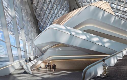 Zaha Hadid Architects Zhuhai Jinwan Civic Art Centre Cina