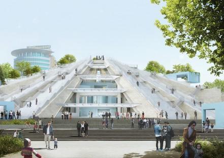 Nuova vita per la Piramide di Tirana al via il progetto di MVRDV
