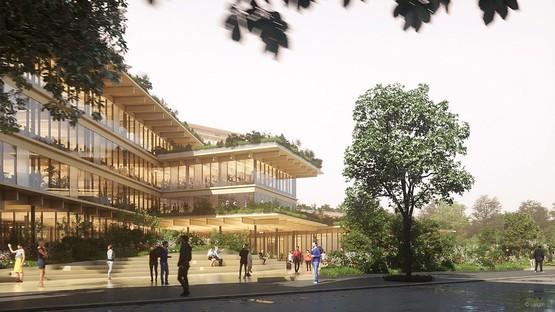 Kengo Kuma & Associates progetta l'ufficio del futuro a Milano