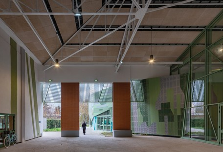 studio Miralles Tagliabue EMBT Le Pavillon di Romainville