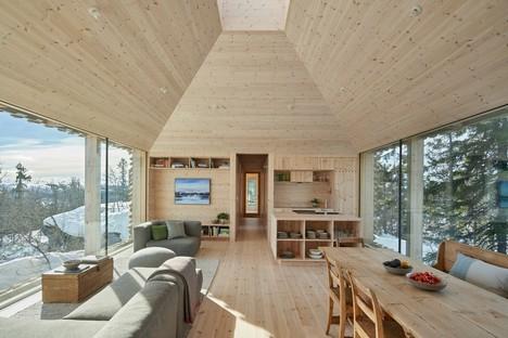 Mork-Ulnes Architects Skigard Hytte vivere nella natura norvegese