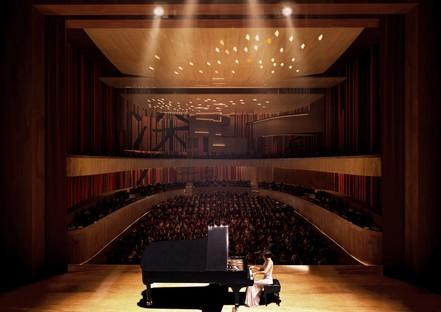 Miralles Tagliabue EMBT vince il concorso per il Conservatorio di Musica di Shenzhen