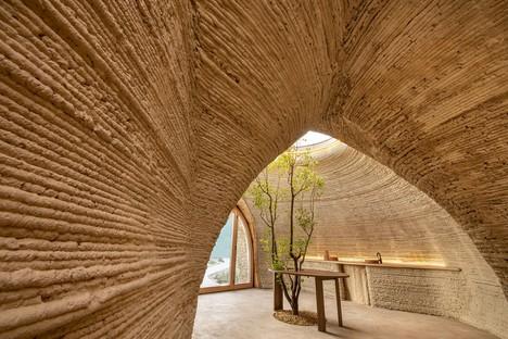 Mario Cucinella Architects TECLA abitazione ecosostenibile stampata in 3D in terra cruda