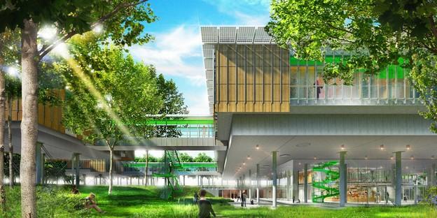 Renzo Piano progetta un Hospice Pediatrico tra le chiome degli alberi