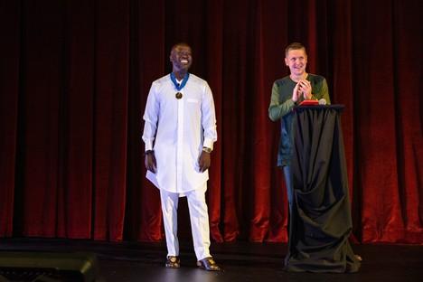 Consegnata la Royal Gold Medal 2021 a David Adjaye OBE