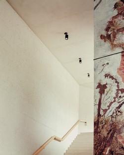 MoDusArchitects inaugurato nuovo ingresso e ampliamento Museo dell'Abbazia di Novacella.