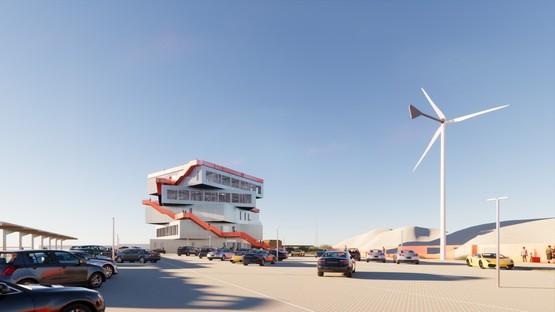 Il nuovo progetto di MVRDV per il porto di Rotterdam