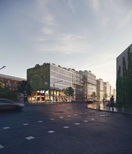 ADEPT per il Wandsbek di Amburgo un edificio in legno CLT
