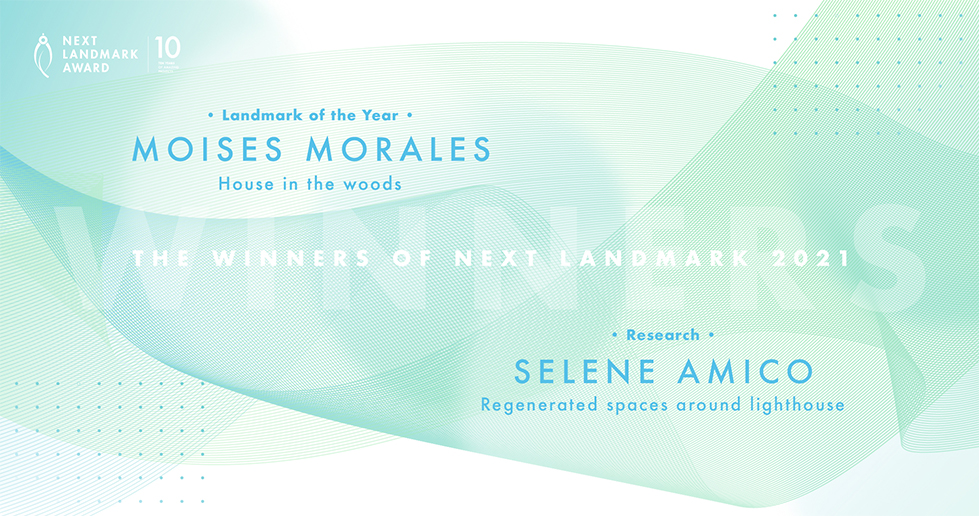 I vincitori di Next Landmark International AWARD 2021