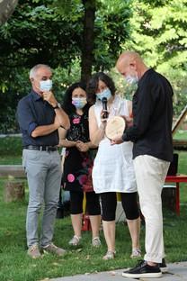 Fondazione Iris Ceramica Group dona un nuovo giardino a Casa Coccapani