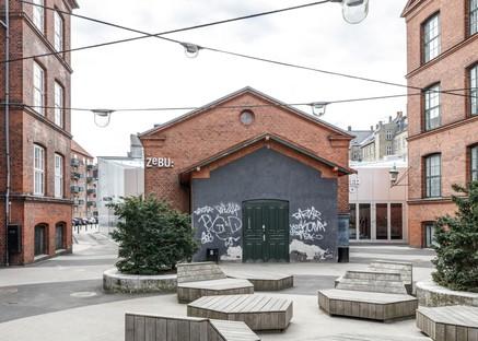 EFFEKT Architects un foyer per Amager Bio e ZeBU theater Copenhagen