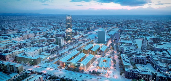 SOM presenta il progetto del Villaggio Olimpico di Milano-Cortina 2026