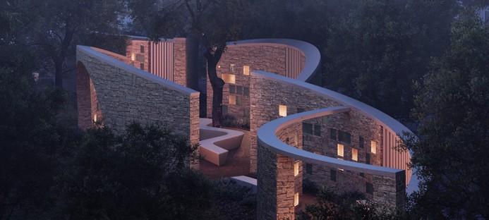 Form4 Architecture Intertwined Eternities un colombario ad Aptos California