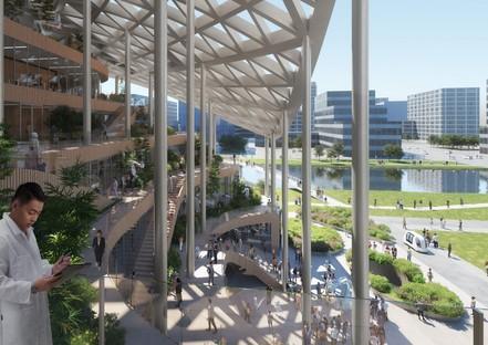 MVRDV progetta la R&D headquarters di Lankuaikei Agriculture Development a Shanghai