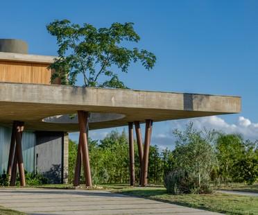 Stemmer Rodrigues Arquitetura Ananda House una casa per lo yoga