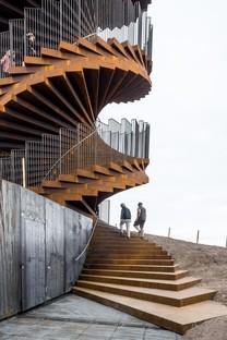 BIG Marsk Tower un nuovo landmark per il Wadden Sea National Park in Danimarca