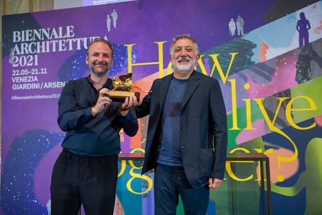 Premi e Leoni d'oro della 17. Mostra Internazionale di Architettura di Venezia