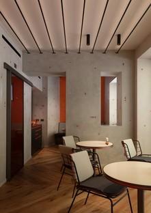 Vudafieri-Saverino Partners Interior Design per Terrazza Aperol a Venezia