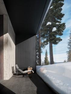 Faulkner Architects Lookout House una casa minimalista in Sierra Nevada