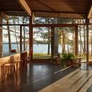 Atelier Pierre Thibault Una casa contemporanea in riva al lago Brome