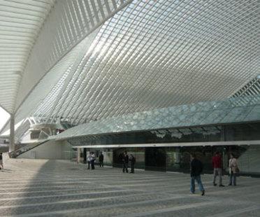 Stazione TGV di Liegi (Belgio) - Santiago Calatrava