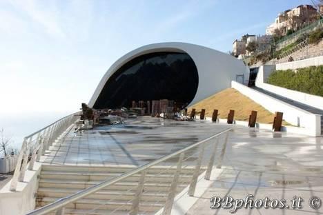 Auditorium Oscar Niemeyer, Ravello Italia