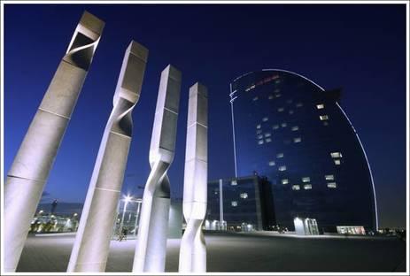 Hotel W Barcelona di Bofill - Spagna