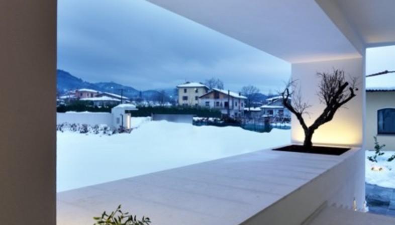 Horizontal space damilanostudio architects floornature - Residence horizontal space damilano studio ...