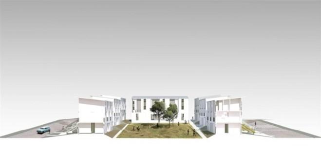 Elemental Monterrey 70 Housing Complex, Messico