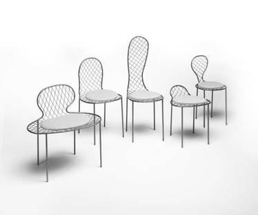 Family chair by Junya Ishigami