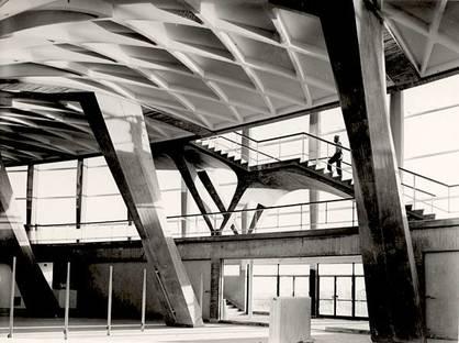 Pier Luigi Nervi, Palazzo dello Sport  (Roma - EUR). Courtesy Fondazione MAXXI