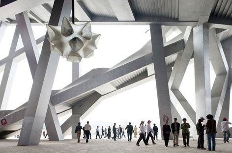 Herzog e de Meuron, Beijing National Stadium, Cina @ Iwan Baan