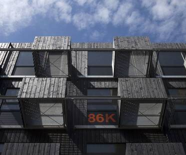 Fact Architects, Zuiderzeeweg, residenze per studenti