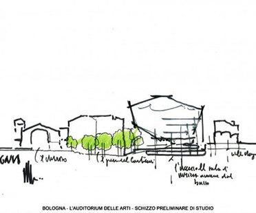 Renzo Piano presenta l'auditorium di Bologna
