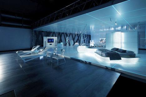 Mostra di design ispirata al film TRON: Legacy
