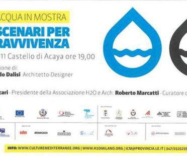Lecce, Riccardo Dalisi per L'ACQUA IN MOSTRA