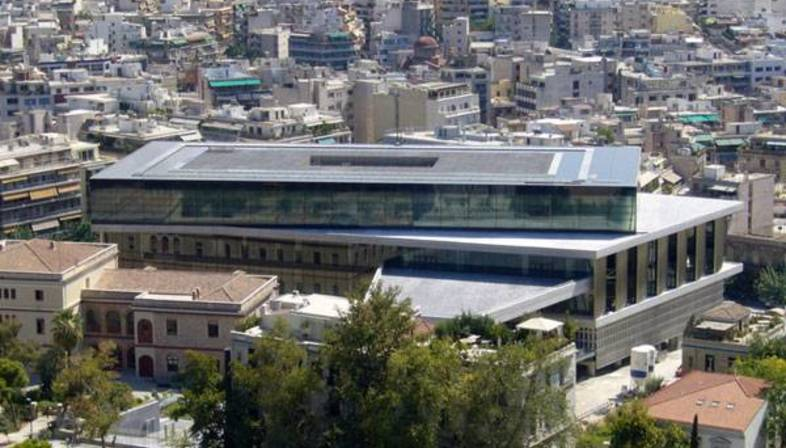 Bernard Tschumi, museo dell'Acropoli di Atene