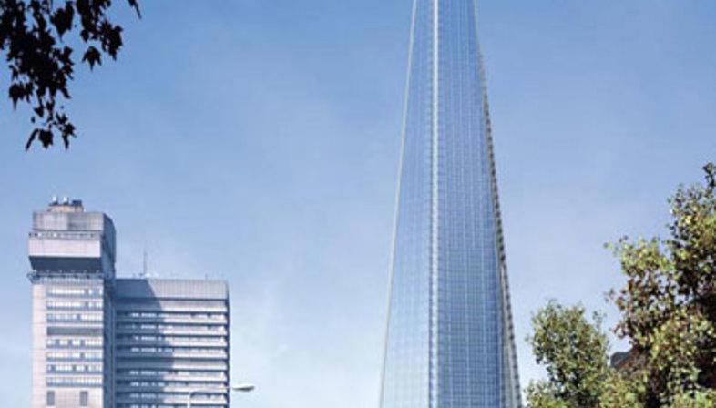 The London Bridge Tower di Renzo Piano