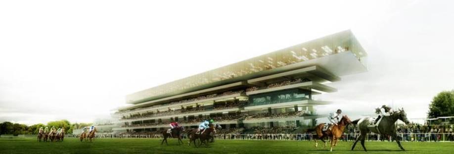 Perrault, nuovo ippodromo di Longchamp