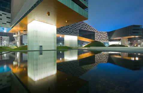 Horizontal Skyscraper-Vanke Center @Iwan Baan