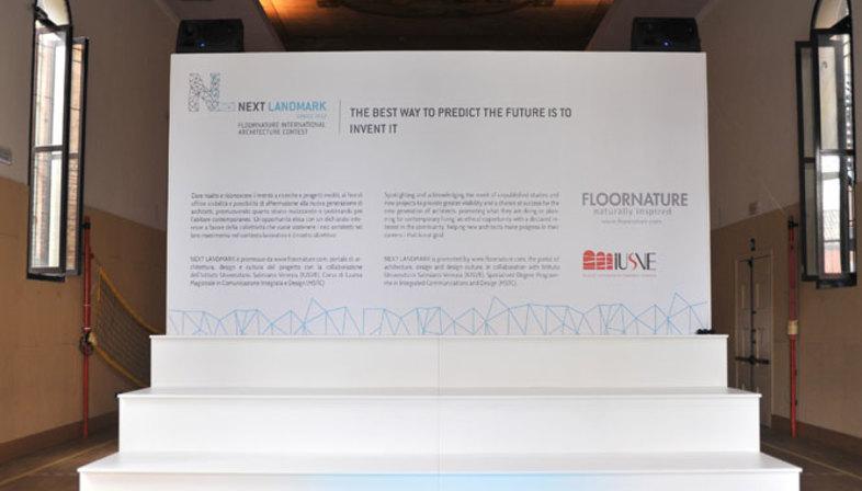 Premiazione della prima edizione di NEXT LANDMARK 2012<br />