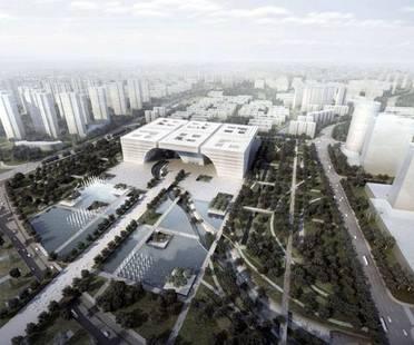 gmp, Changzhou Culture Center, Cina