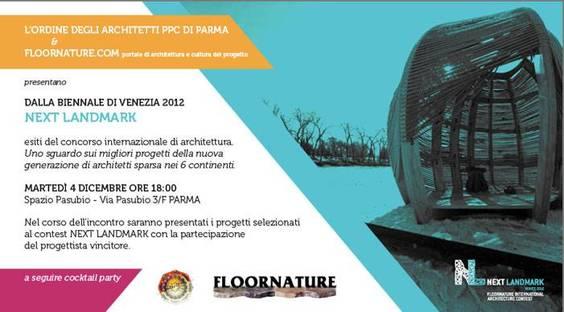 Spazio Pasubio Parma, Next Landmark Floornature 2012